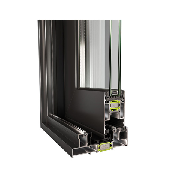 The new sliding thermal insulation system EUROPA Hybrid A40 SL has High certified thermal insulation with Uf of 1.63 W / m2K. Use: Overlapping, raised or simple, single-leaf-double with external fixed, complex constructions.