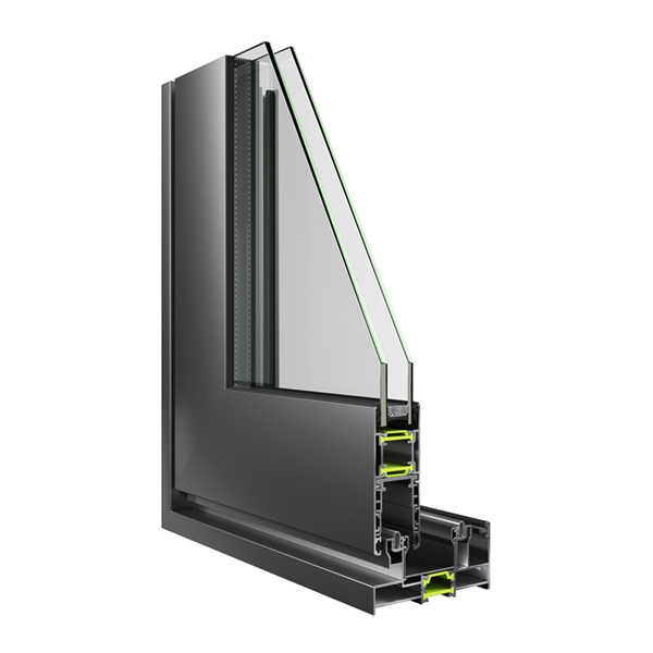 The sliding thermal insulation system ESS 34 Hybrid was designed with the indicator of high quality and flexibility. It offers a variety of construction options that integrate it into the systems that meet most requirements.