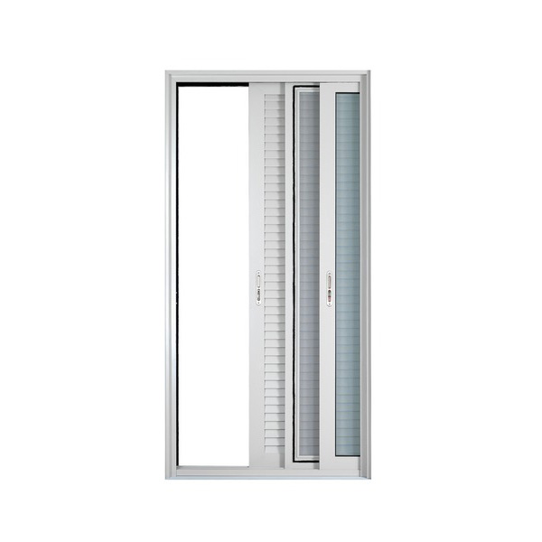 The ideal solution for any type of sliding window of small and large dimensions. It perfectly covers even the most difficult requirements, offering high aesthetics with classic design lines. It has two different leaves (straight and oval simple or with integrated handle)